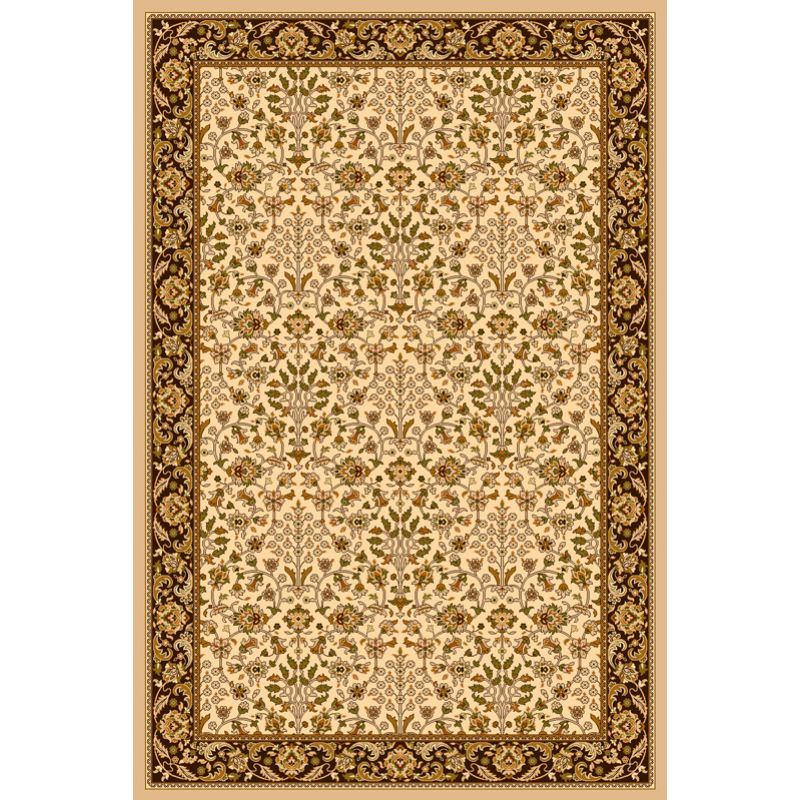 Kusový koberec Agnella Isfahan ITAMAR krémový,vlnený, 80x120cm