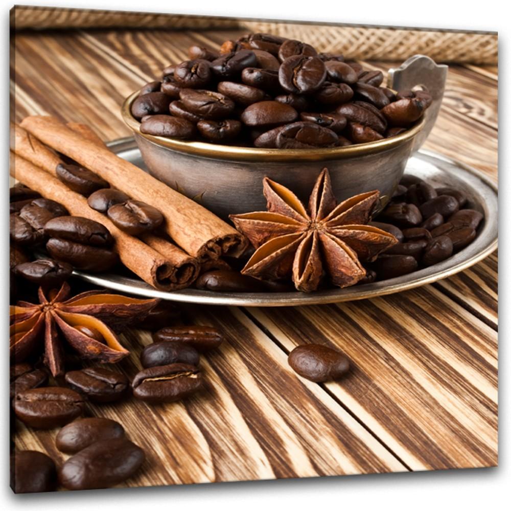Obraz Styler Glasspik Coffee, 30×30 cm