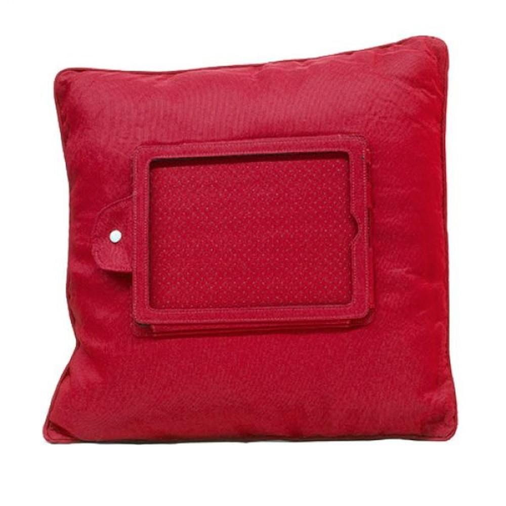 Červený vankúš s držiakom na iPad InnovaGoods