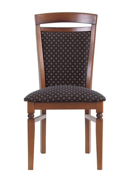 Jedálenská stolička Bawaria DKRSII   Farba: Orech taliansky / modrá