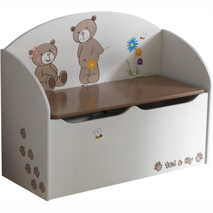 PUFI detská truhlica na hračky