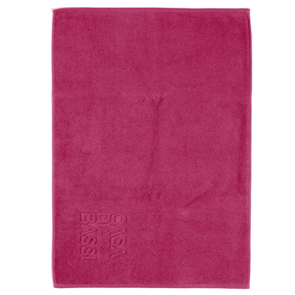 Vínová bavlnená kúpeľňová predložka Casa Di Bassi Basic, 50x70 cm