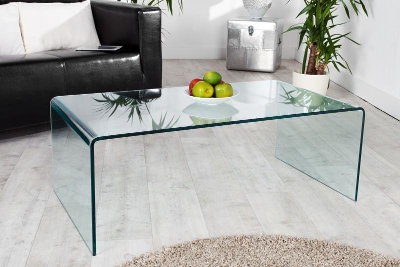 Konferenčný stolík HOSST 110 cm - číra