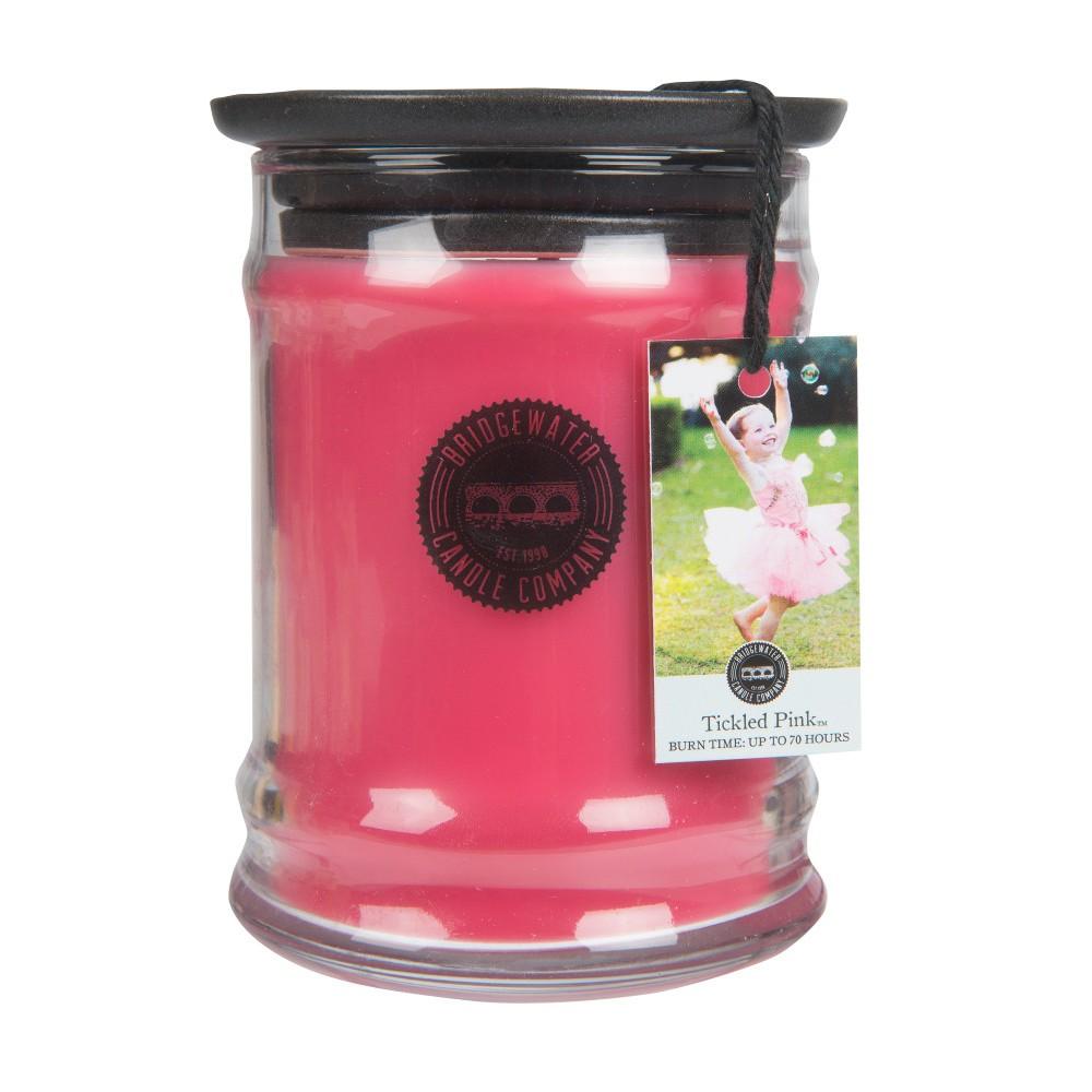 Vonná sviečka v sklenenej dóze Bridgewater Candle Company Tickled Pink, doba horenia 65-85 hodín