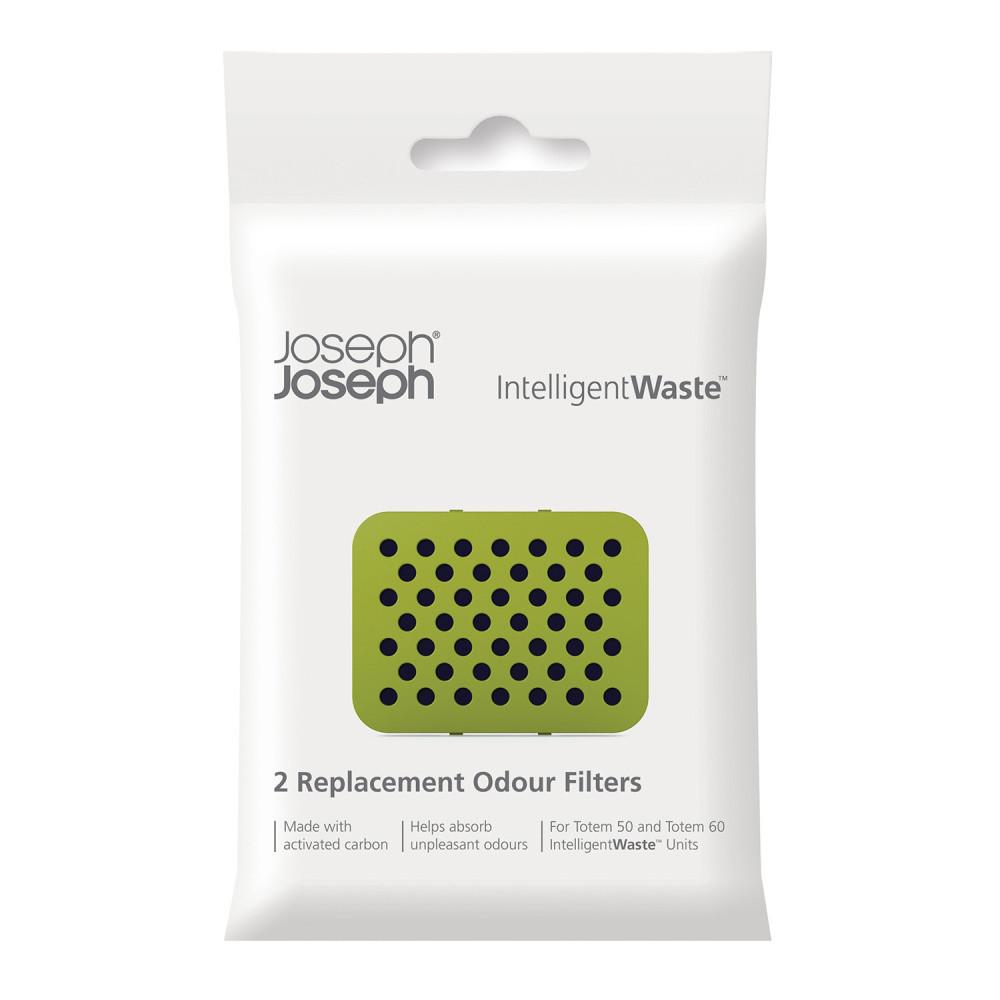 Sada 2 náhradných uhlíkových filtrov Joseph Joseph IntelligentWaste Odour Filters