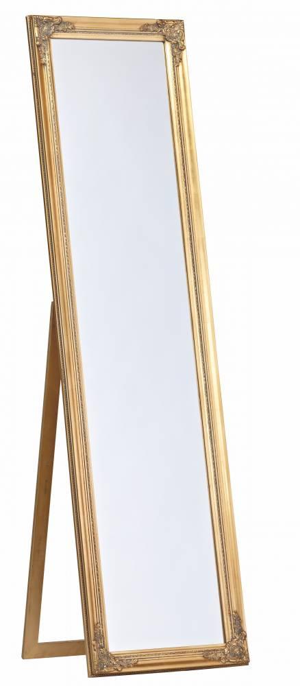 Stojanové zrkadlo ORVAULT zlatá