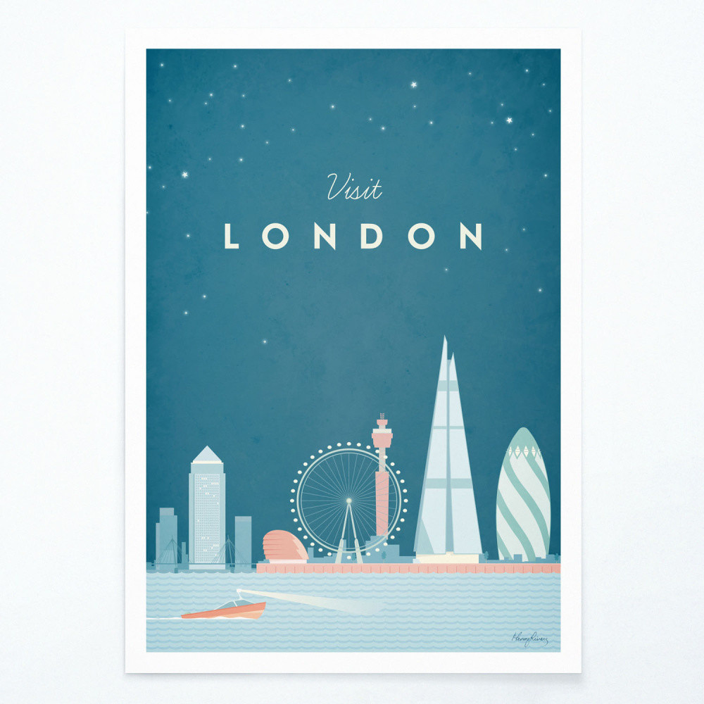 Plagát Travelposter London, A2