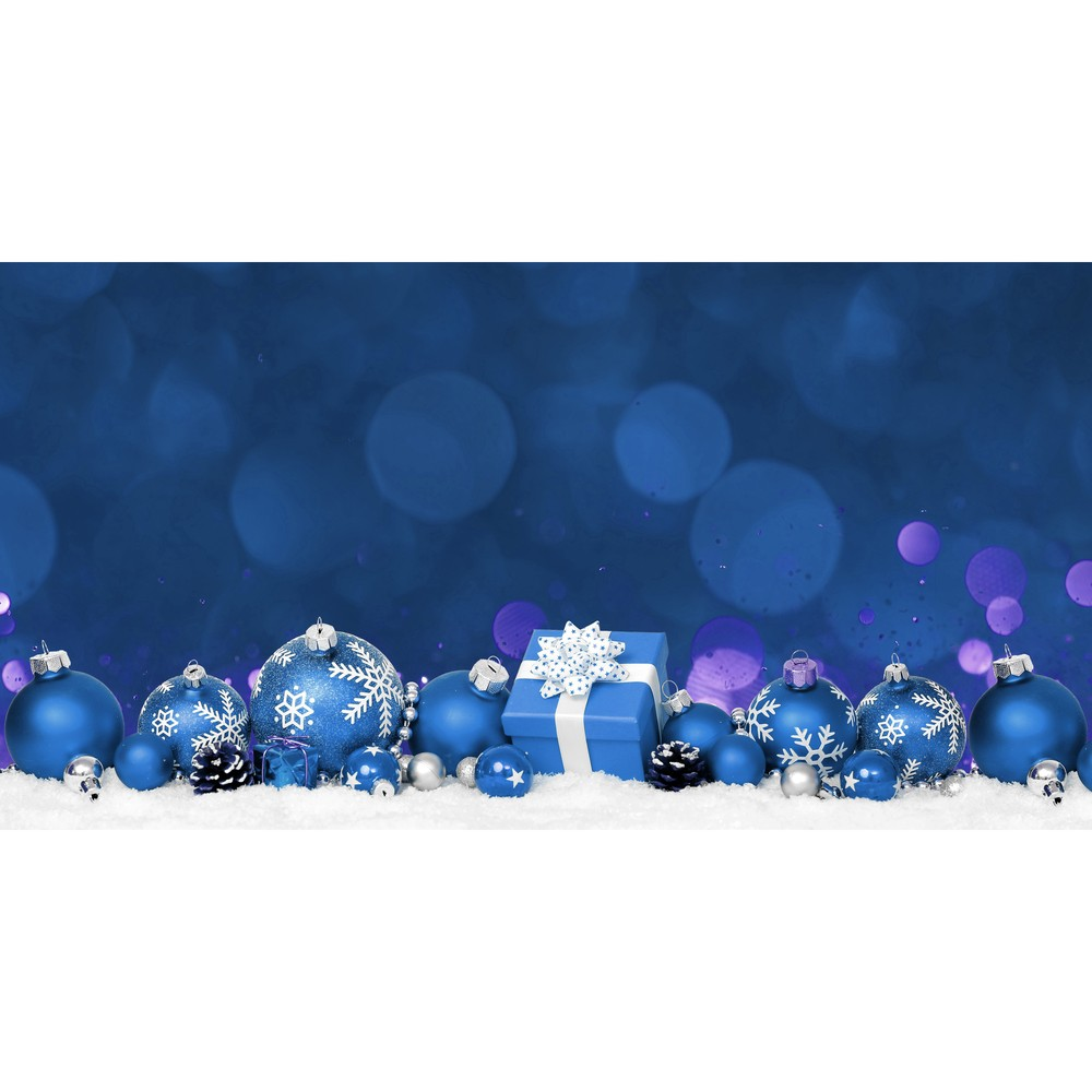 Kuchynský behúň Crido Consulting Happy Holidays, dĺžka 100 cm