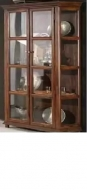 Furniture nábytok  Masívna vitrina / knižnica z Palisander  Mahbúbe  100x40x75 cm