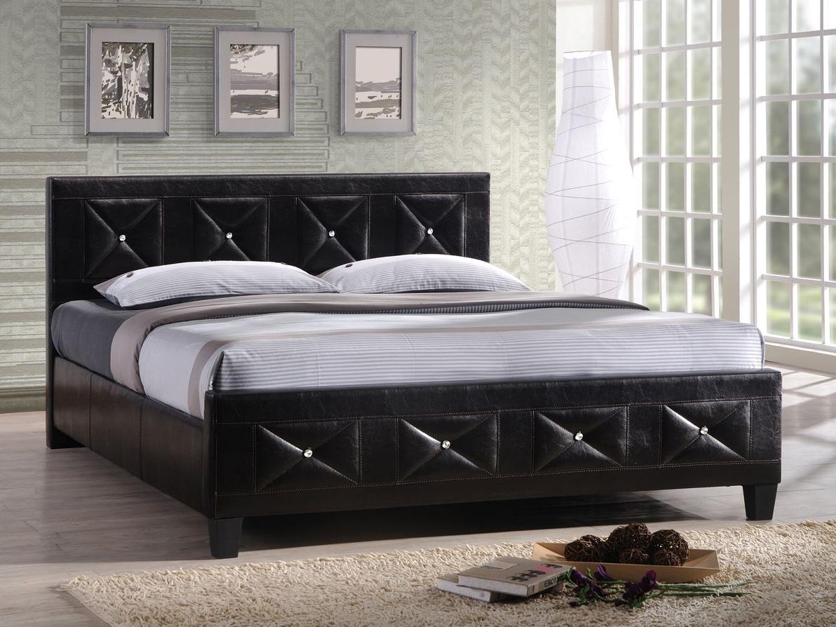 Manželská posteľ 180 cm Carisa (s roštom)