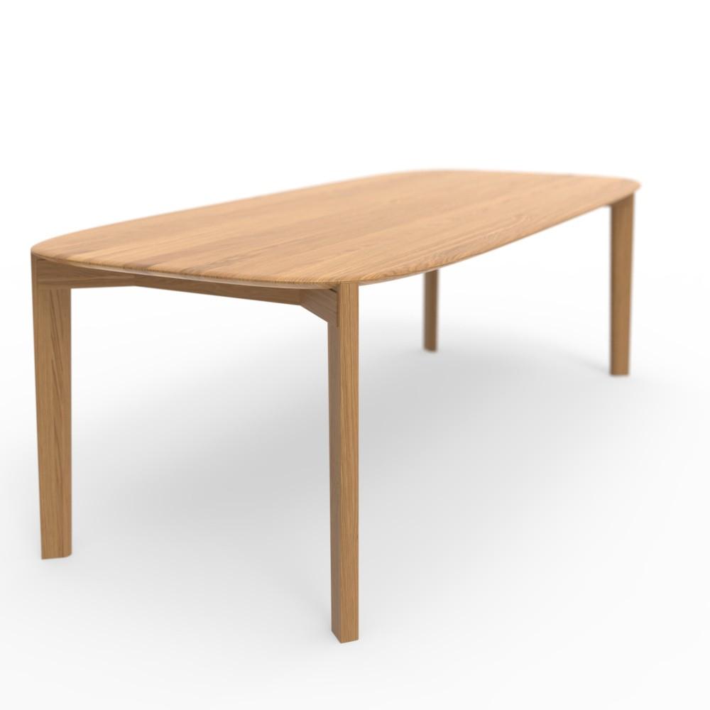 Jedálenský stôl z dubového dreva Wewood - Portugues Joinery Soma, dĺžka 180 cm