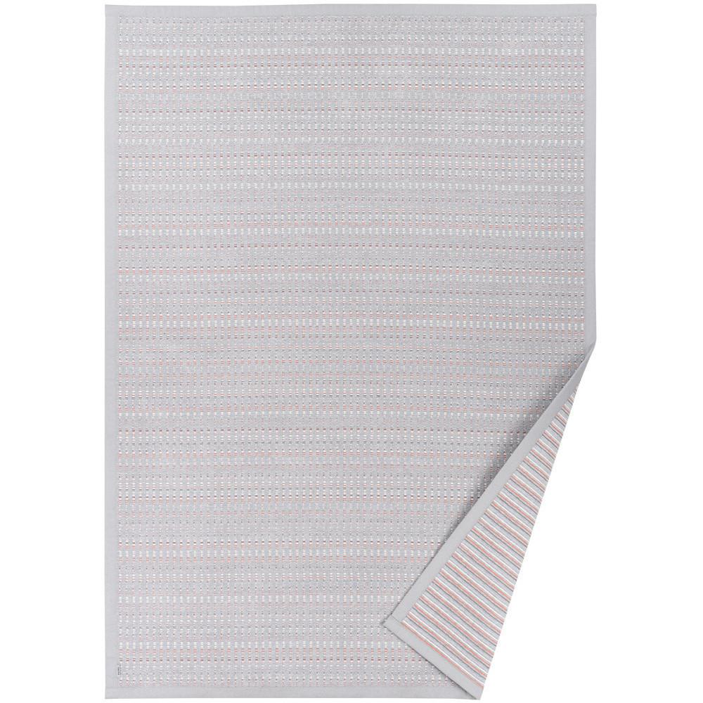 Sivý vzorovaný obojstranný koberec Narma Esna, 70x140cm