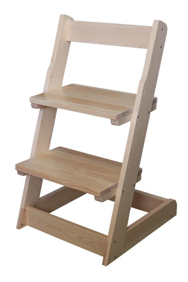 Bradop Detská stolička, celodrevená polohovacie B162