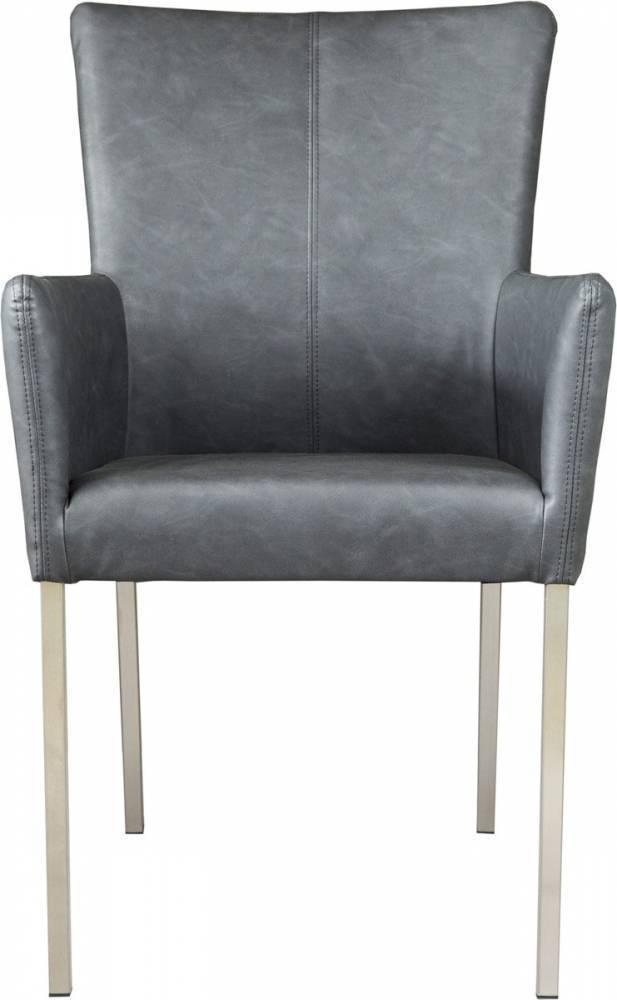 Jedálenská stolička TIVOLI - čierna
