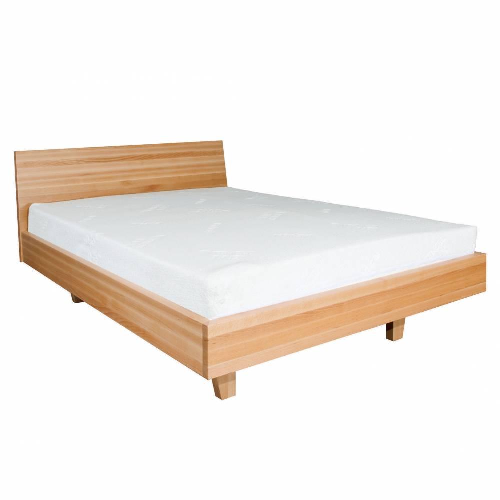 Manželská posteľ 160 cm LK 113 (buk) (masív)