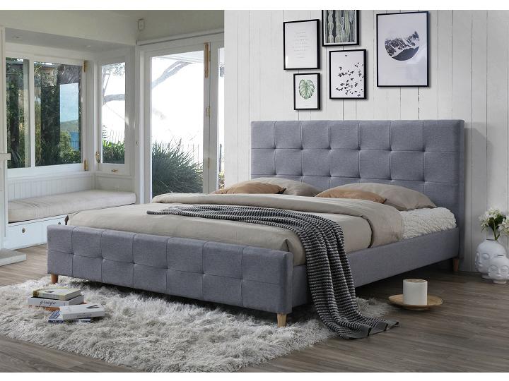 Manželská posteľ 180 cm Balder (s roštom)