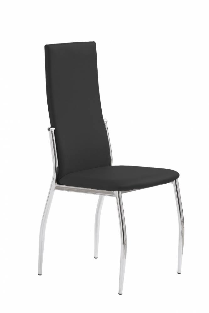 Jedálenská stolička K3 (čierna)