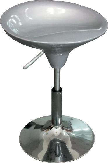 Barová stolička Karmin New strieborná