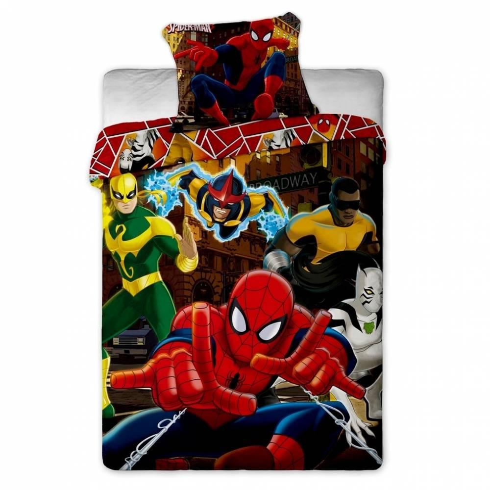 Jerry Fabrics Detské obliečky Spiderman Hero, 140 x 200 cm, 70 x 90 cm