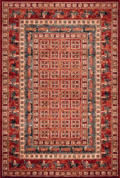 Osta carpets Koberec Kashqai 4301 300 červený 67x130cm