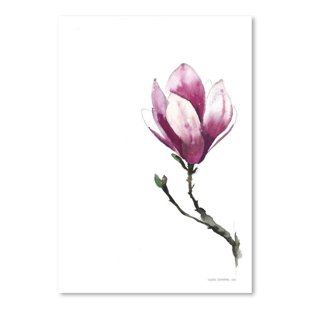 Plagát Magnolia II, 30x42 cm