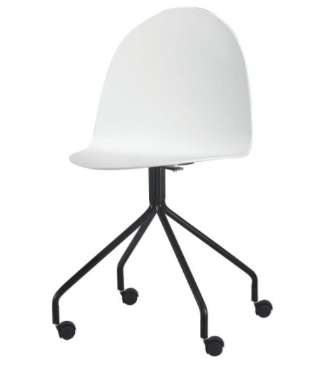 Kancelárska stolička Bruna   Farba: Biela