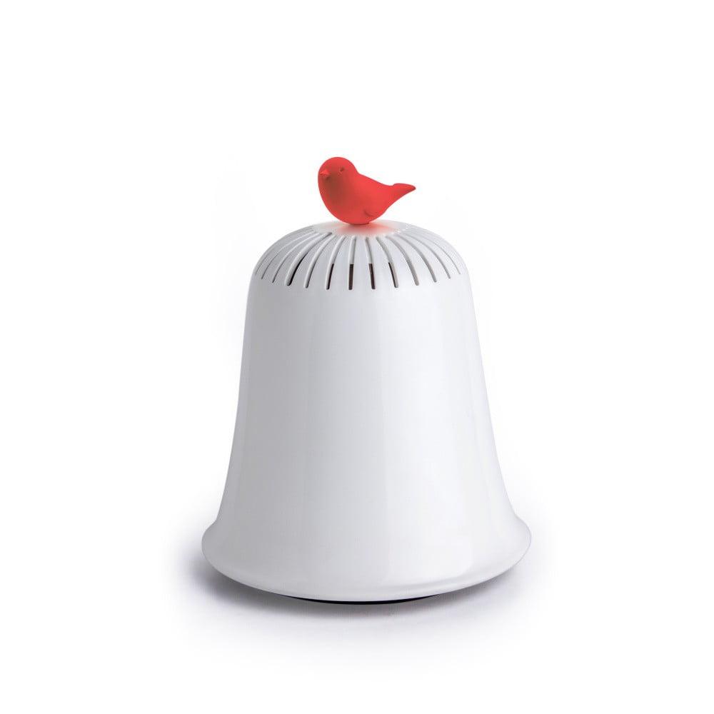 Bielo-červená pokladnica Qualy&CO Saved The Bell