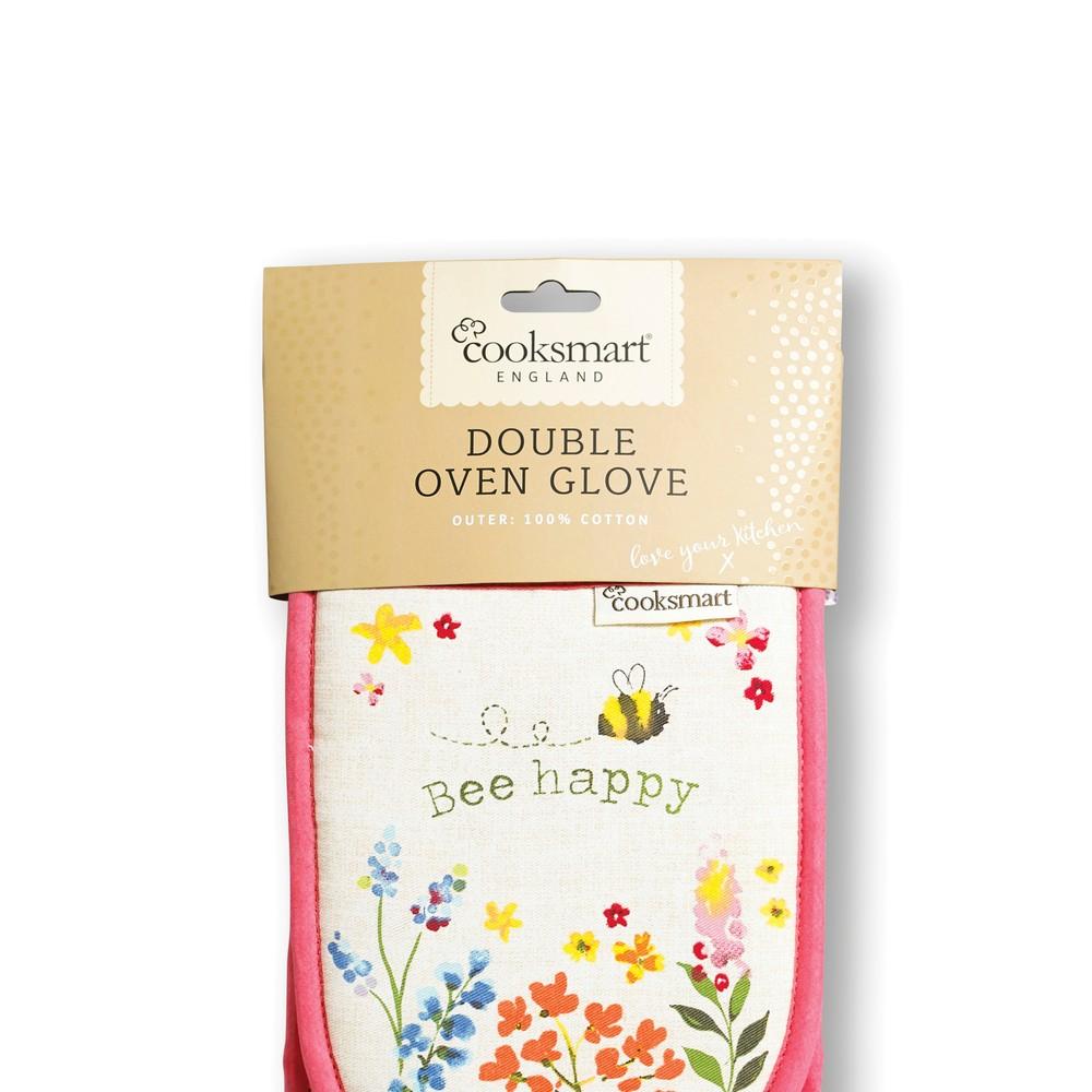Rukavice na plech Cooksmart England Flowers