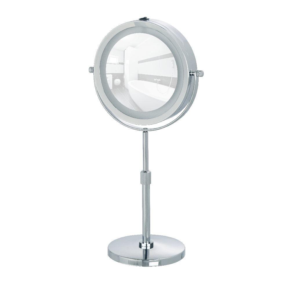 Kozmetické zrkadlo s LED svetlom Wenko Lumi