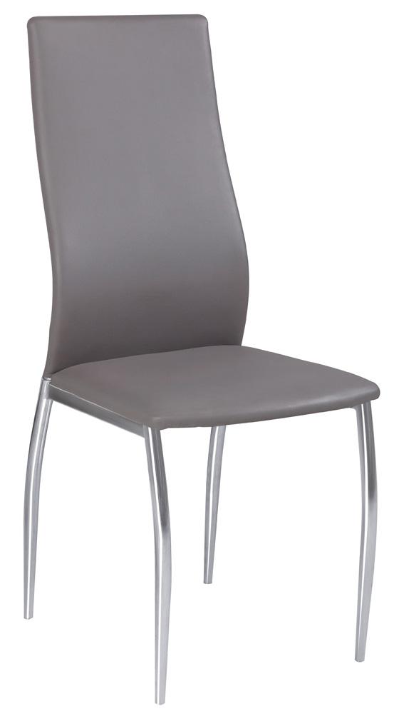 Jedálenská stolička H-801 šedá