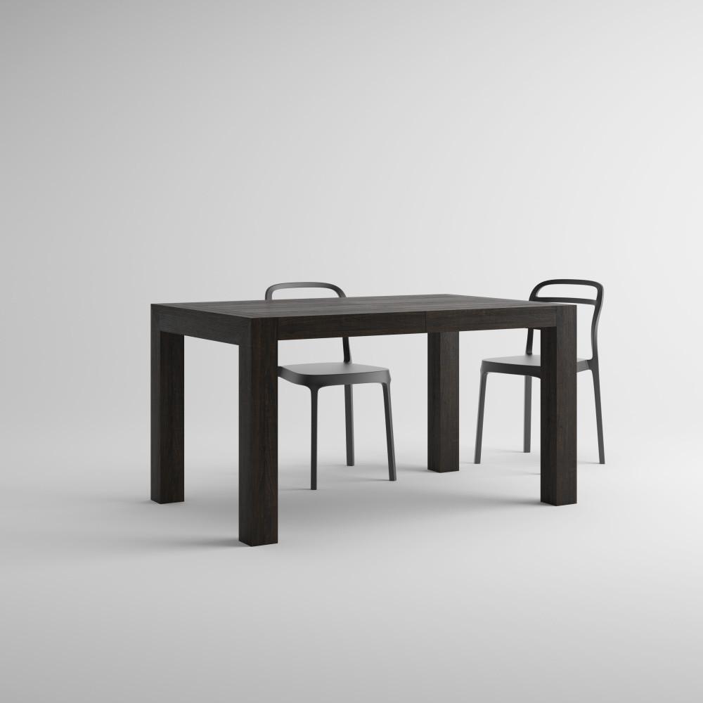 Rozkladací jedálenský stôl v dekore hnedého duba MobiliFiver Iacopo, dĺžka140-220cm