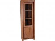 Furniture nábytok  Masívna knižnica / vitrína z Palisanderu  Pahlaván  65x45x190 cm