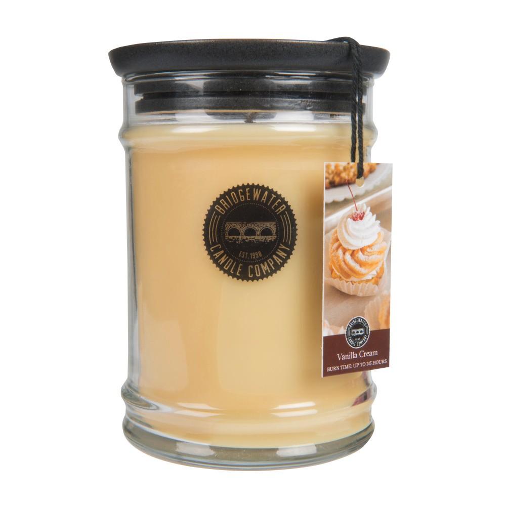 Vonná sviečka v sklenenej dóze Bridgewater Candle Company Vanilla Cream