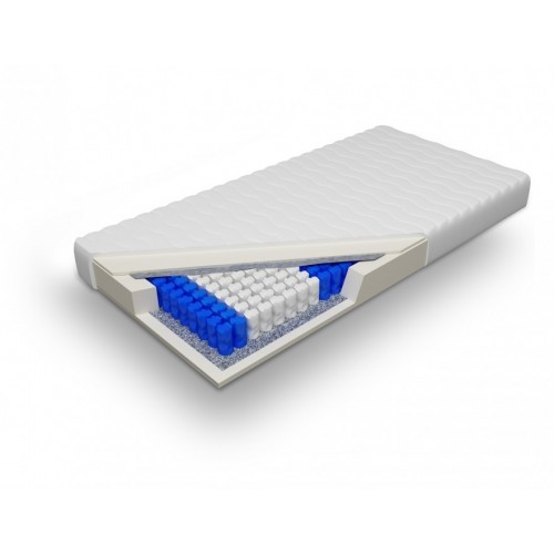 Biely nábytok Matrac Posejdon 120, ortopedický, taštičkový