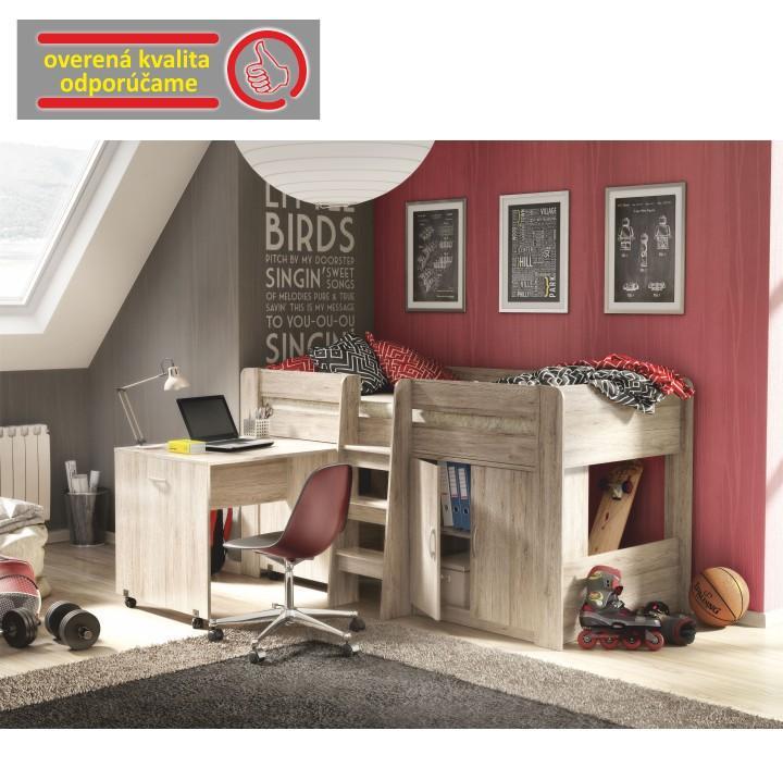 8a5b782956554 TEMPO KONDELA Kombinovaná posteľ do detskej izby, san remo, FANY