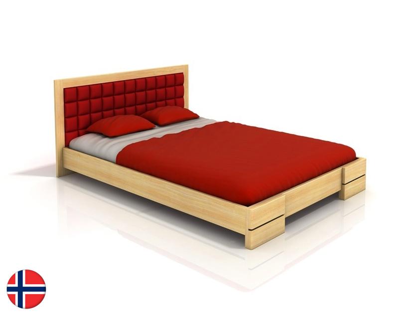 Manželská posteľ 180 cm Naturlig Storhamar (borovica) (s roštom)