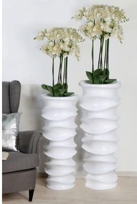 Kvetináč MOVE S - biela