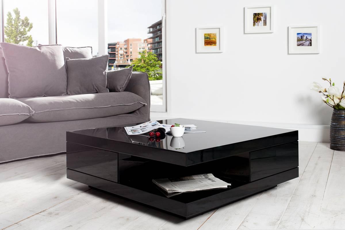 Konferenčný stolík FUNCT 70 cm - čierna