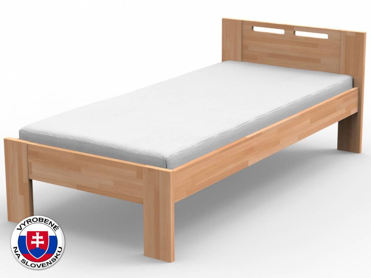 Jednolôžková posteľ 100 cm Nela (masív)