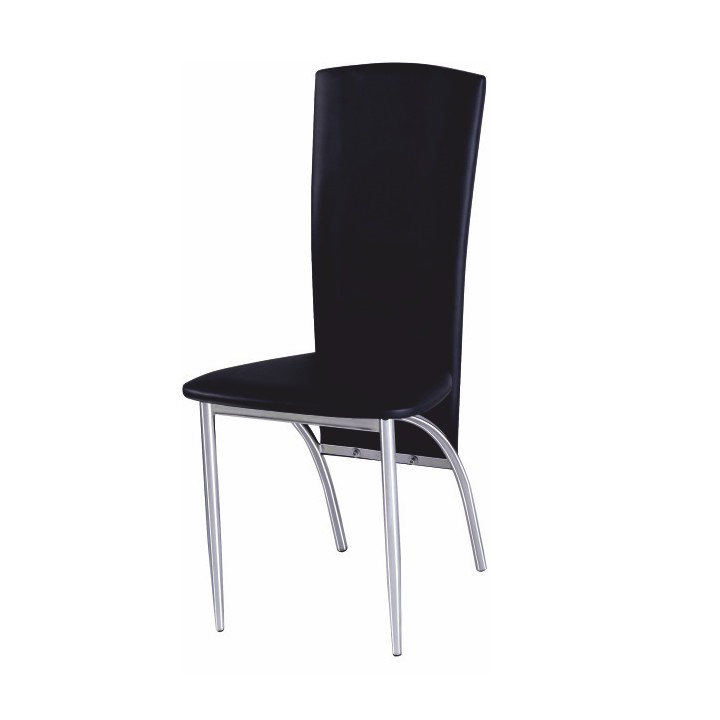 Jedálenská stolička Fina čierna