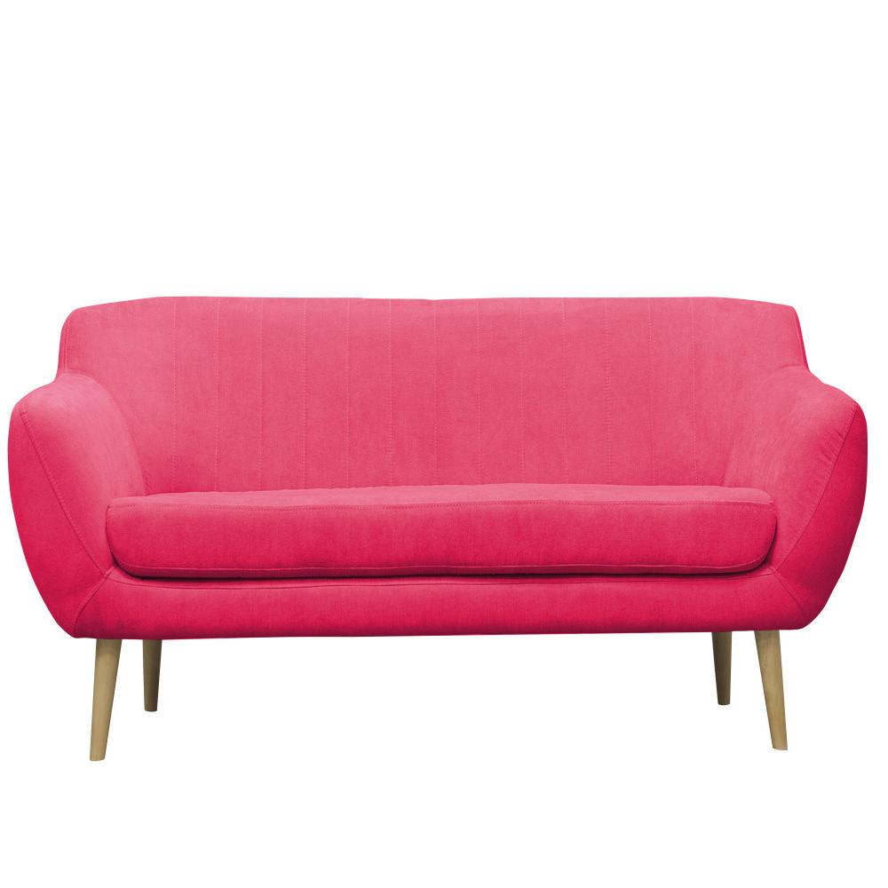 Ružová pohovka pre troch Mazzini Sofas Sardaigne