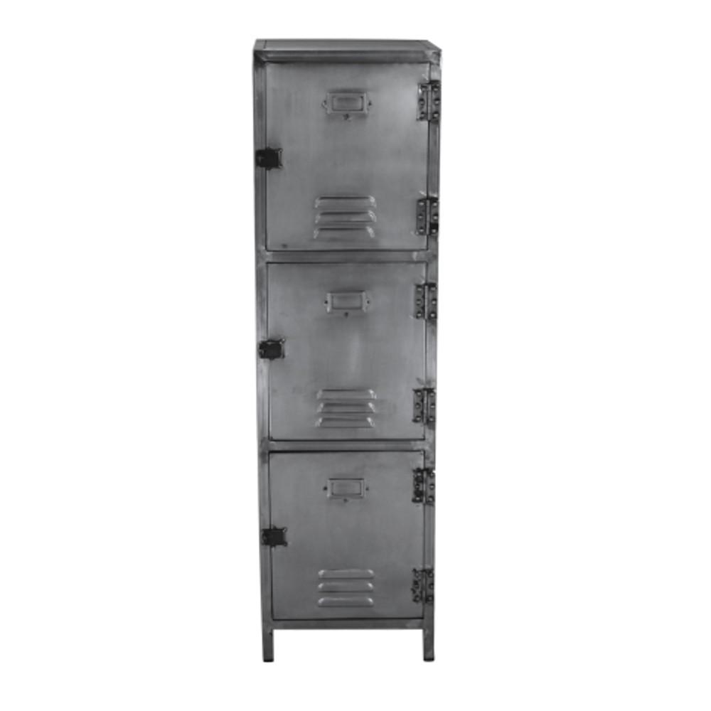 Sivá skriňa zo železa HSM collection Locker
