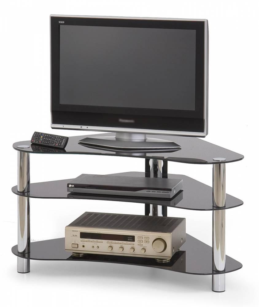 Rohový TV stolík RTV-13 čierna
