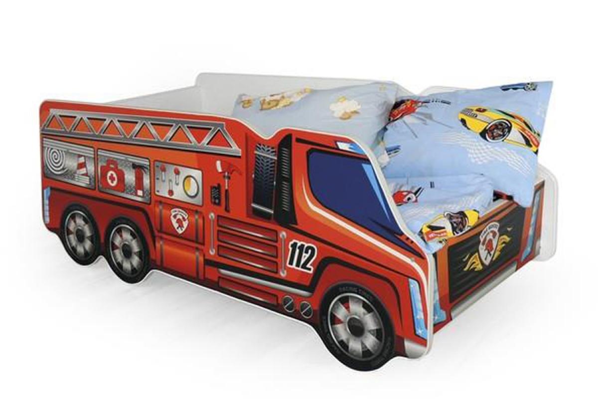 Nabytok-Bogart Posteľ fire truck