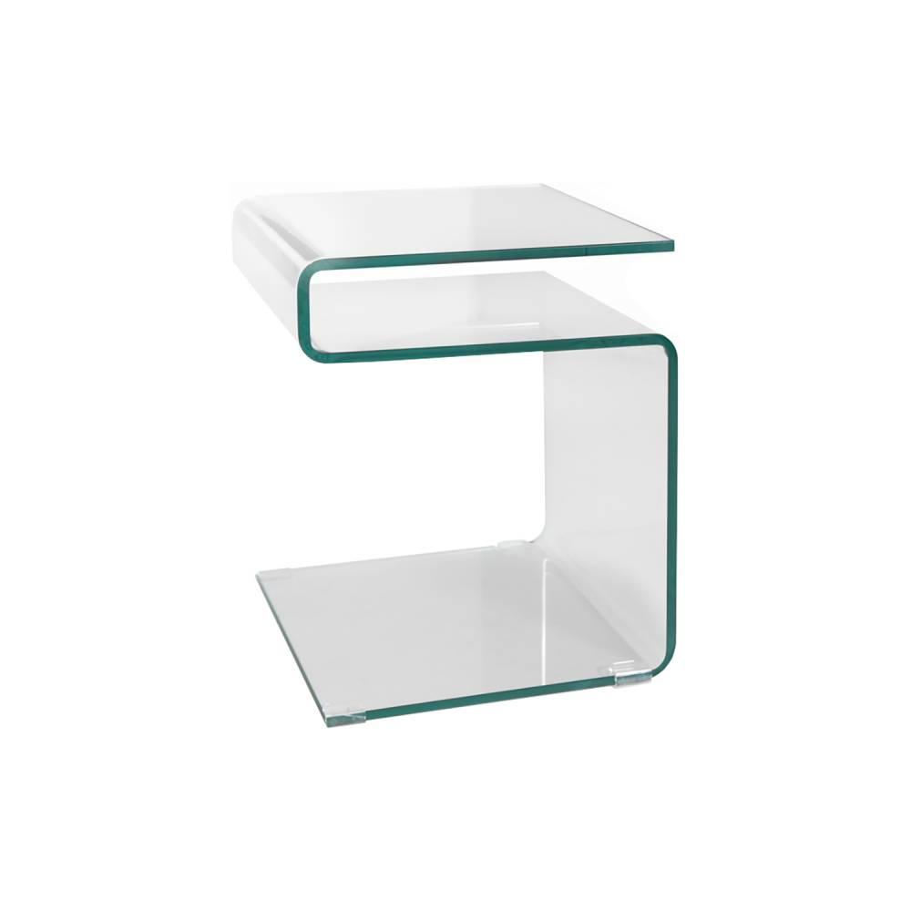 Odkladací stolík sklo