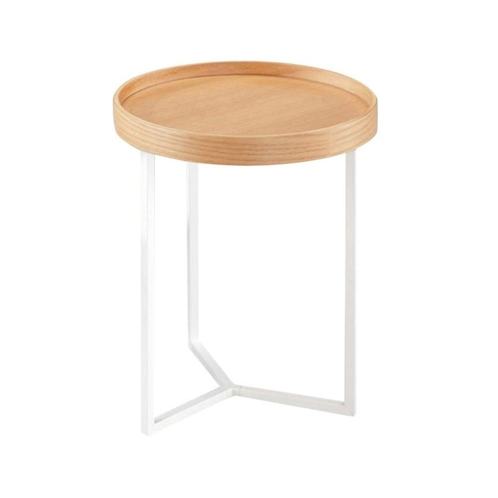 Hnedý odkladací stolík Design Twist Tallin