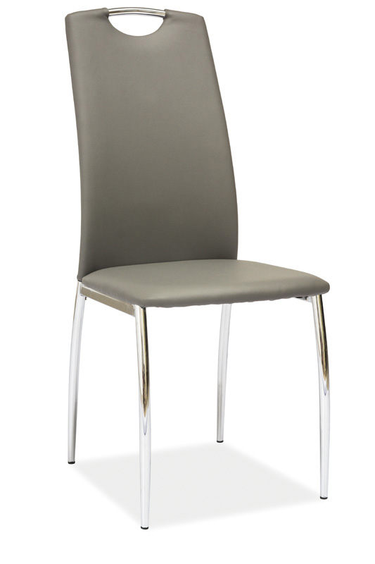 Jedálenská stolička HK-622, šedá