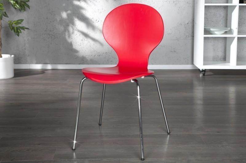 Stolička HOUSTON - červená