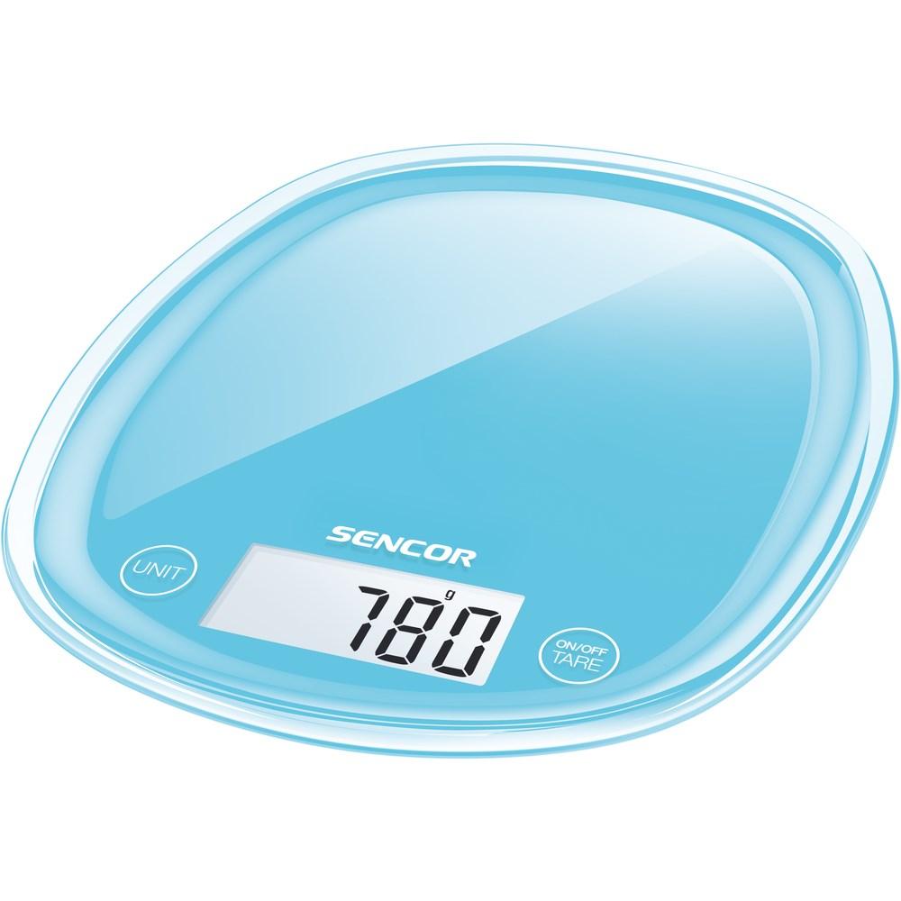 Sencor SKS 32BL kuchynská váha, modrá,