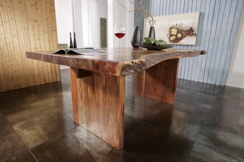 Masiv24 - METALL Stôl 170x110 lakovaný akácia